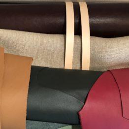 Accessoires en chanvre et en cuir